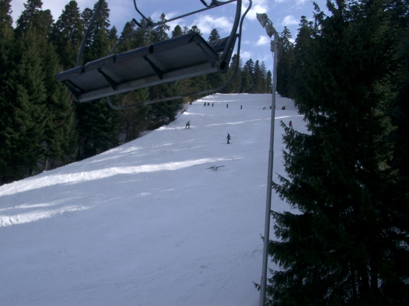 Piste in Borovets